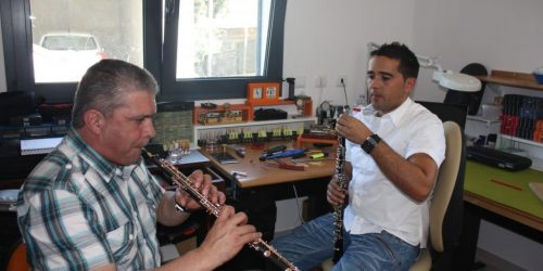Francisco Luís Vieira - Solista na Banda Sinfónica da Guarda Nacional Republicana