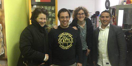 Louise Pellerin, Pedro Calado, Simone Erasmi, Frederico Fernandes